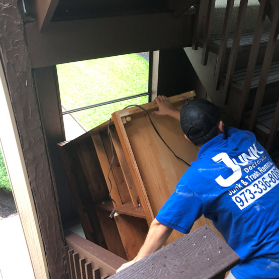 Furniture Removal Thomas J Dohany Homes NJ